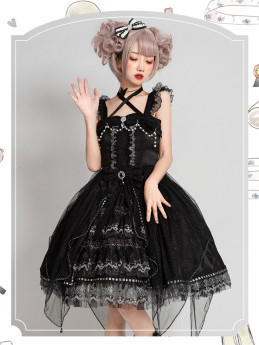 Night Spirit Classic Lolita JSK Set