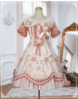 Yinluofu -The Crown of Cat- Sweet Lolita OP Dress
