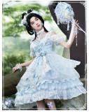 Yinluofu -Lotus in the Water- Tea Party Princess Qi Lolita JSK
