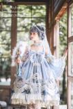 BoliCherry -Cloud of Fog Island- Tea Party Princess High Waist Lolita JSK