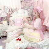 Cute Doll Sweet  Lolita OP Dress Full Set