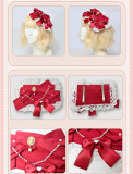 Magic Tea Party -Cherry Tea Party- Sweet  Lolita Blouse and Accessories