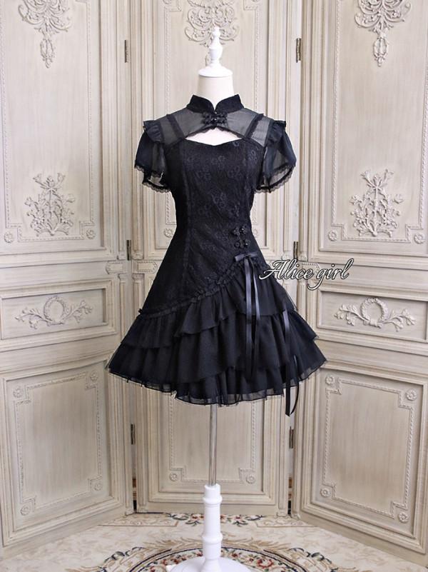 Alice Girl -Elegant Lady- Qi Lolita OP Dress