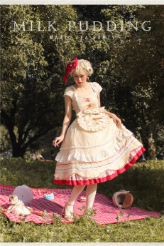 Magic Tea Party -Milk Pudding- Sweet  Lolita OP Dress