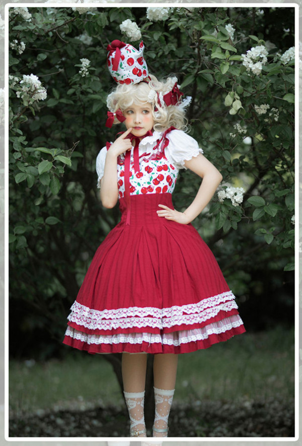Magic Tea Party -Cherry Tea Party- Sweet Lolita JSK