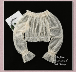 BoliCherry -Cloud of Fog Island- Lolita Blouse