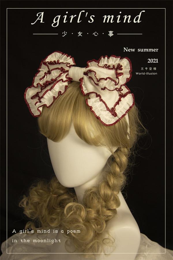 A Girl's Mind Sweet  Lolita Accessories
