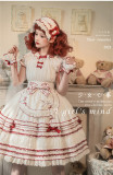 A Girl's Mind Sweet  Lolita JSK and OP Dress