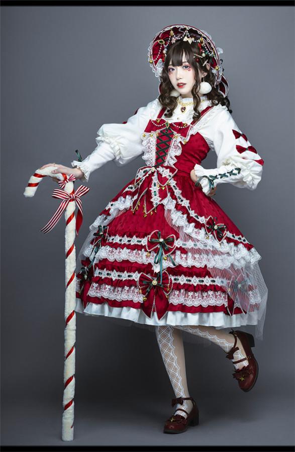 Leicester Christmas Sweet Lolita JSK