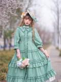 Ellywick Countryside Casual Classic Lolita OP Dress