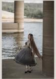 Withpuji -Star River in My Dream- Classic Lolita OP Dress