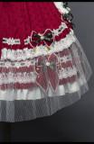 Leicester Sweet Lolita Headdress and Overskirt