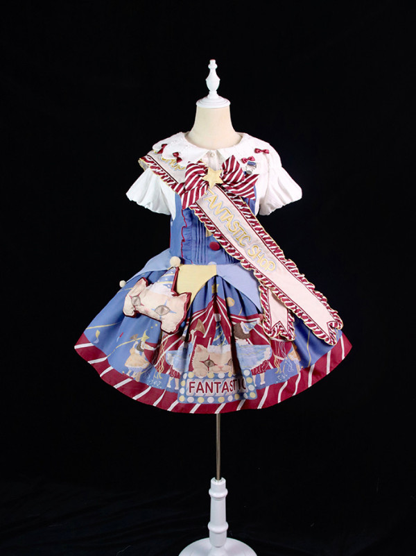 Alice Girl -Magic Night- Sweet Lolita Salopettes