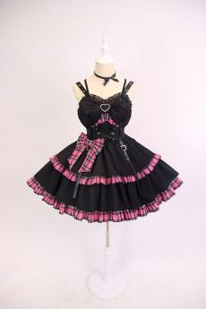 Alice Girl -Punk Girl- Punk Lolita JSK