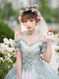 Bucharest Classic Lolita Headdress Set and Necklace