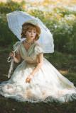 Fantastic Wind -Dandelion- Classic Embroidery Lolita OP Dress and Hat