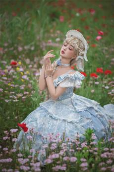 Fantastic Wind -Falling Flowers- Classic Lolita JSK