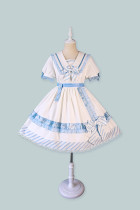 Alice Girl -Summer Letter- Sweet Lolita OP Dress