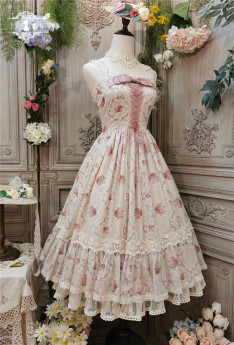 Miss Point -The Rose- Classic Casual Lolita JSK
