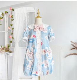 Cat Afternoon Tea Sweet Lolita OP Dress