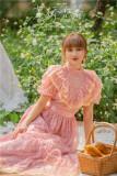 Elegant Classic Vintage Casual Lolita OP Dress