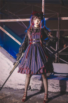 Infanta -Street Angel- Punk Lolita JSK and Headbow