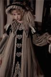 Girl in Antique Cabinet Vintage Classic Lolita OP Dress