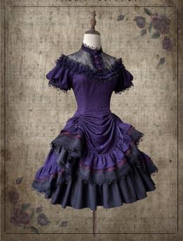 Nightingale Witch Gothic Lolita OP Dress