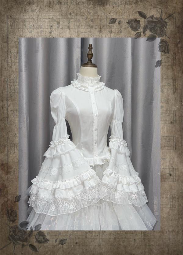 Nightingale Witch Gothic Lolita Blouse