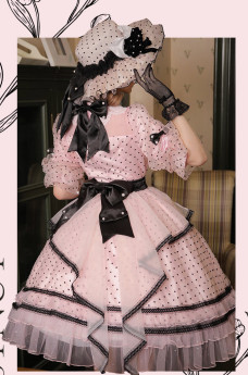 Sakya Lolita -Falling in Love- Vintage Classic Lolita Hat