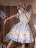 Tea Cup Rabbit Sweet Lolita OP and Headband