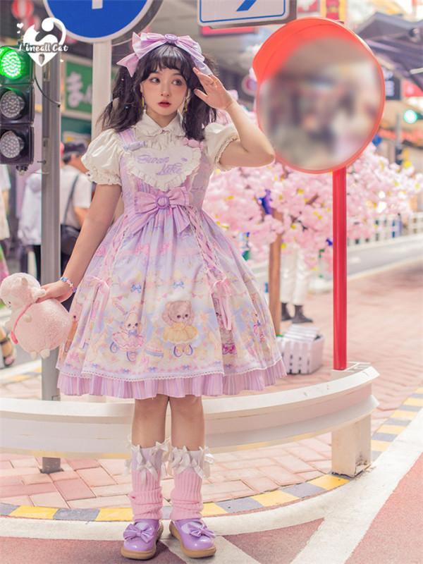 Ballet Doll Sweet Lolita JSK and Headdress