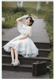 Withpuji -Letter from the Wind- Classic Lolita OP Dress