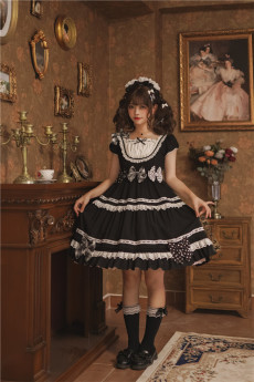 To Alice -Layers of Pudding- Sweet Doll Lolita OP Dress
