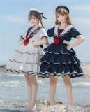 Gloaming -Summer Sea- Sailor Lolita OP Dress