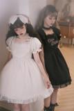Cream Waffles and Chocolate Waffles Sweet Doll Lolita OP Dress