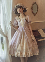 Borgia Classic Long Lolita OP Dress