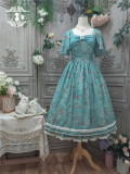 Miss Point -Malus Spectabilis in the Moon- Classic Casual Lolita OP Dress