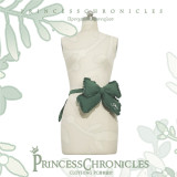 Princess Chronicles -Limited Blossom- Ouji Lolita Embroidery Green Blouse, Shorts and Waistband