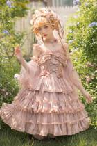 Eternal Spring Fantastic Princess Tea Party Lolita JSK