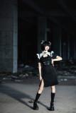 YourHighness -The Battle- Qi Punk Maid Lolita OP Dress
