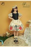 Southern Cross -Flora- Classic Lolita OP, JSK and Skirt