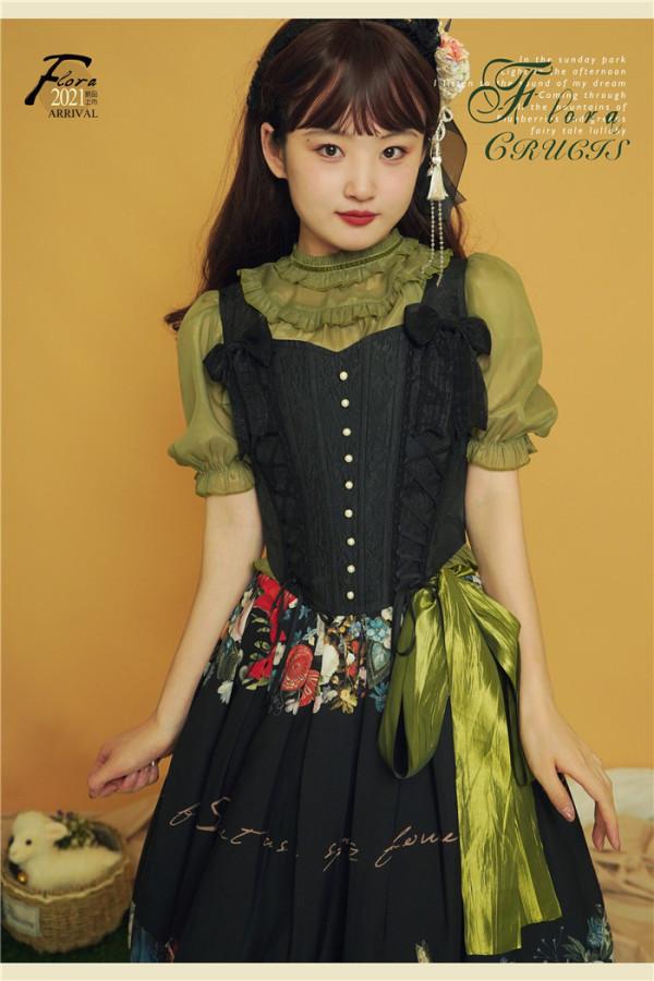 Southern Cross -Flora- Classic Lolita Blouse