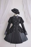 Alice Girl -Famous Detective Ally- Ouji Lolita OP Dress