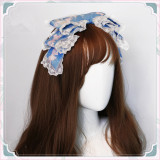 CatHighness - Freesia- Classic Countryside Lolita Headbow and Hairclip