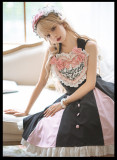 CatHighness - Love Song- Sweet Elegant Lolita JSK and Headband