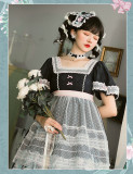 CatHighness - Freesia- Classic Countryside Lolita OP Dress