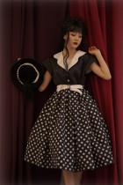 Dot Chocolate Classic Vintage Casual Lolita OP Dress