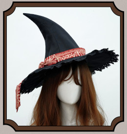 CatHighness - Magic Academy- Classic College Halloween Witch Lolita Hat