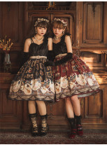 CatHighness - Ceylon in the Moon- Sweet Gothic Lolita JSK and Headbow